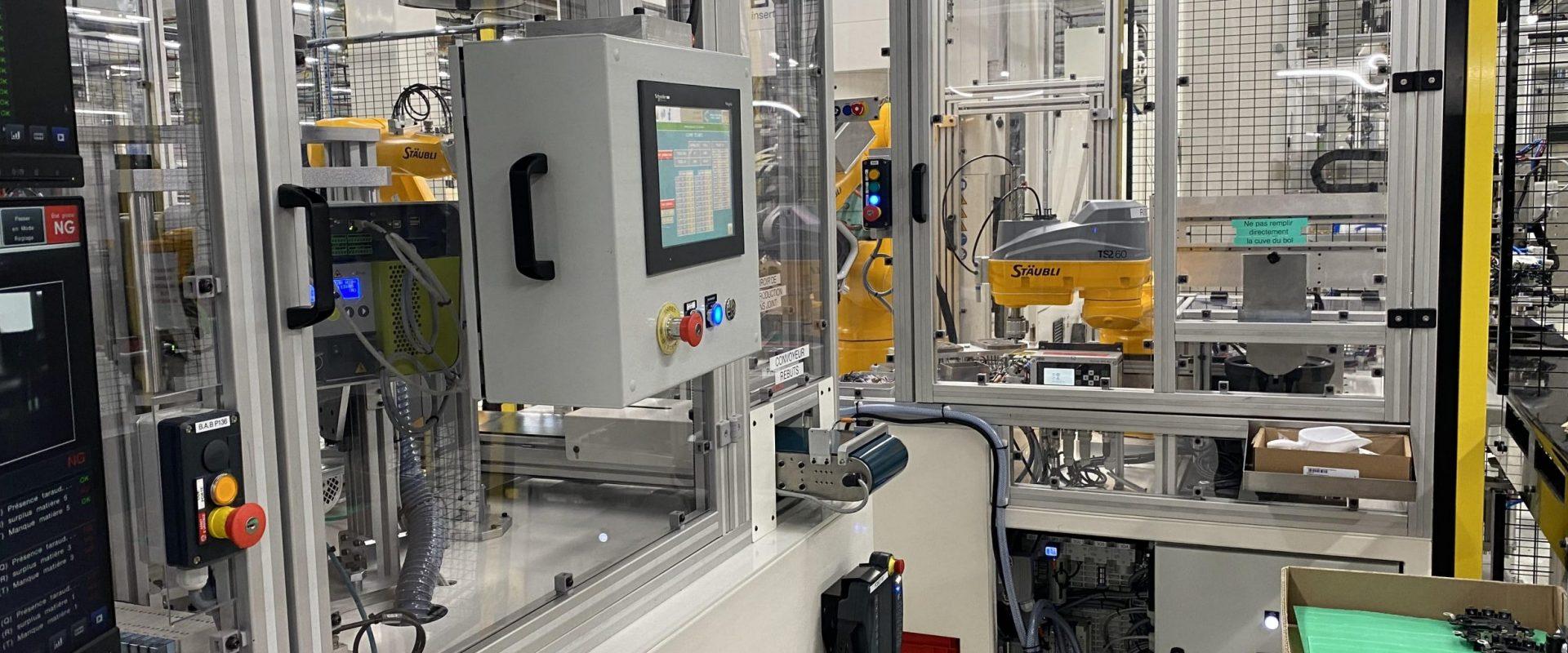 Garbe automatisme automatiser pour faire un pas vers l'industrie du futur