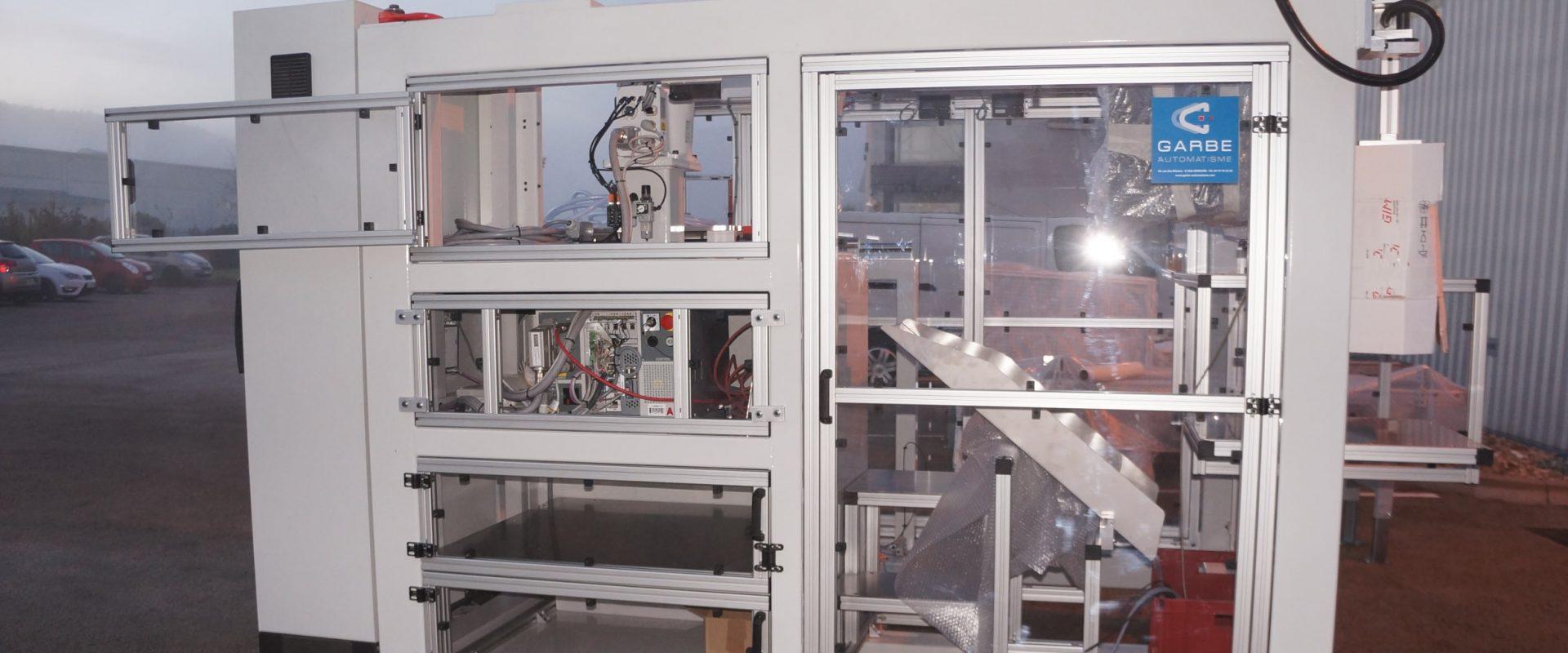 Garbe automatisme - machine - automatisation