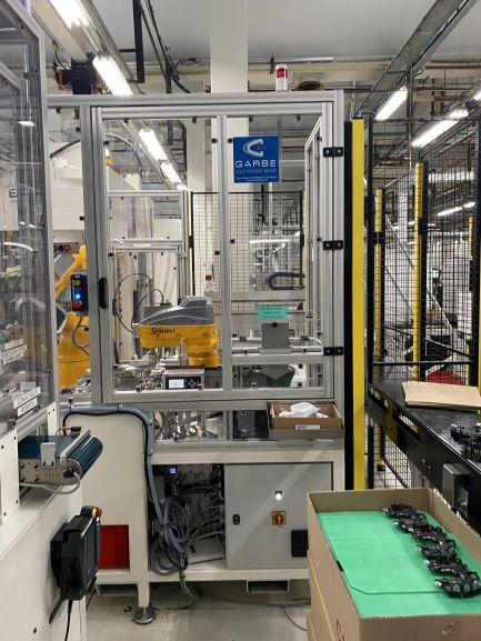 Garbe automatisme - machine spéciale robotique