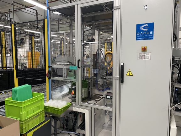 Garbe automatisme - robot industriel